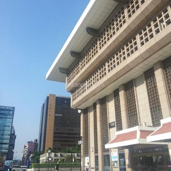 今日もいい天気! 現在30度。#台湾 #台北 #台湾旅行 #台北駅