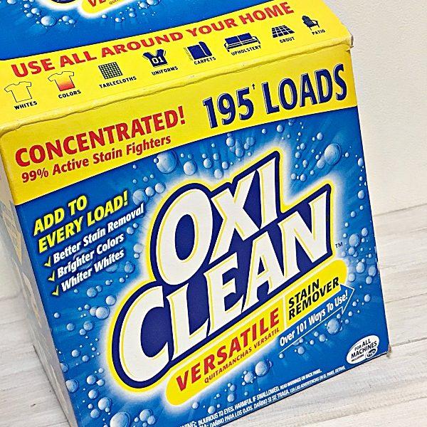 古いレスポートサックをオキシクリーン(OXI CLEAN)で洗ったら嫌なニオイも取れて満足.