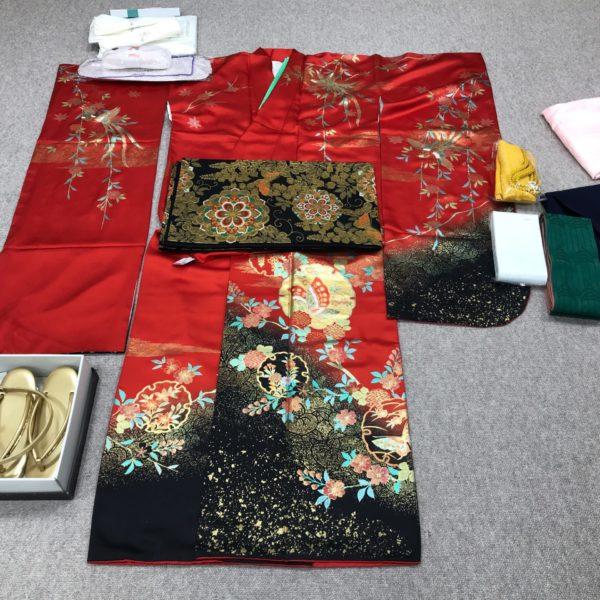 女子大生の卒業式用の袴と振袖をフルセットでレンタルよりも超格安で購入しました♪